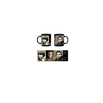 Stark Characters Mug from Game Of Thrones