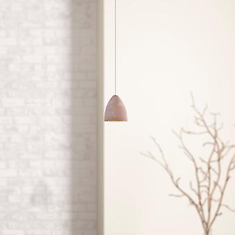 Tetrra 1 Mini Pendant Lighting Concrete