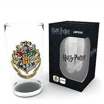 Harry Potter Official Logo Design Large Glass