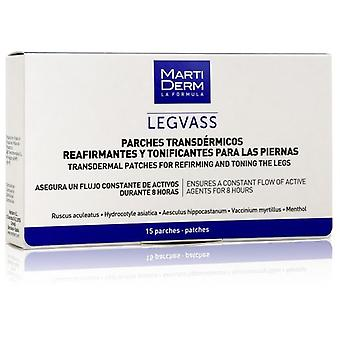 Martiderm Legvass Patches Transdermais 15 Unidades