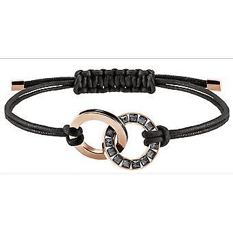 Swarovski armband 5429899-Alto Noir M tal Dor Rose män
