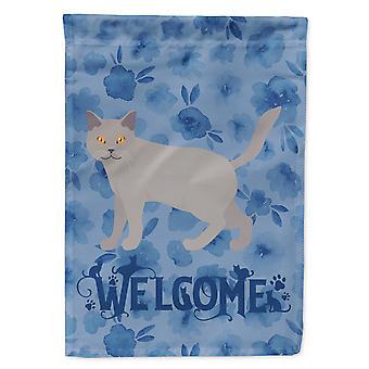 كنوز كارولينز CK4849CHF شارترو #2 القط مرحبا العلم قماش قماش حجم البيت