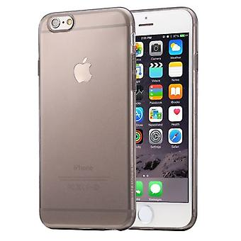 For iPhone 6S PLUS,6 PLUS Case,Ultra-Thin Transparent Protective Cover,Black