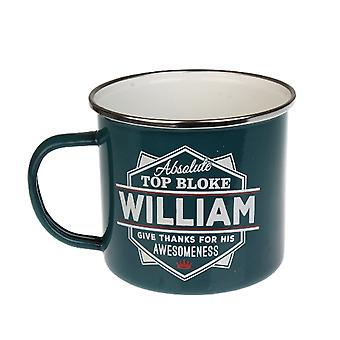 History & Heraldry William Tin Mug 88