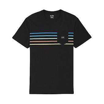 Billabong Riot Spinner Korte Mouw T-shirt in zwart