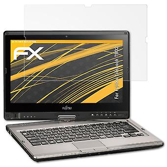 atFoliX Glass Protector compatible with Fujitsu Lifebook T902 Glass Protective Film 9H Hybrid-Glass