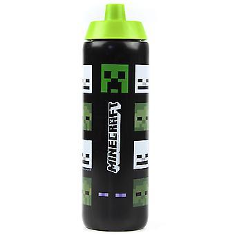 Minecraft juomat pullo zombie creeper ja luuranko 724ml