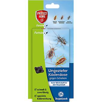 SBM Protect Home Forminex vermin bait can against cockroaches, 2 pieces