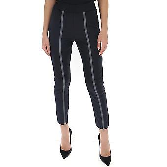 Fabiana Filippi Pad260b187c0955101 Women's Black Cotton Pants