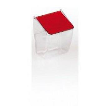 Yagu Red Cap feeder (2UDS) (Birds , Feeders & Water Dispensers , For Cages)