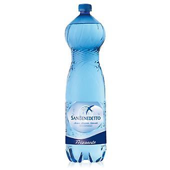 San Benedetto Vatten Mousserande Pet-( 1,5 Lt X 6 flaskor)