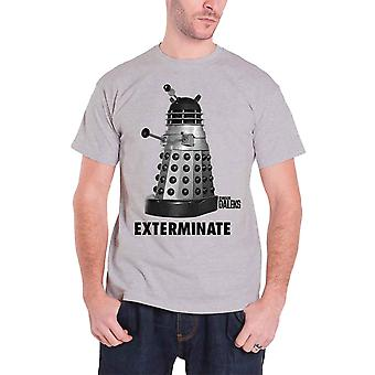 Dr Who T Shirt Exterminate Studiocanal Vintage Movie Poster Official Mens