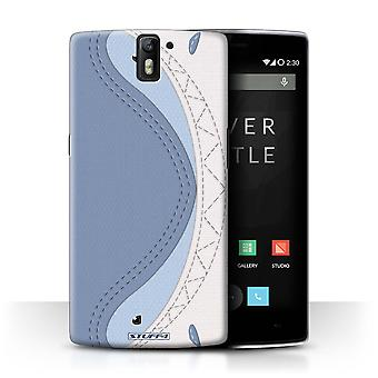 STUFF4 Case/Cover for OnePlus One/Shark/Animal Stitch Effect