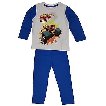 Blaze and the monster machines boys pyjama set