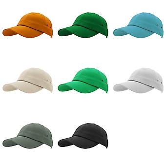 Result Unisex 100% Plush Finish Baseball Cap (Pack of 2)