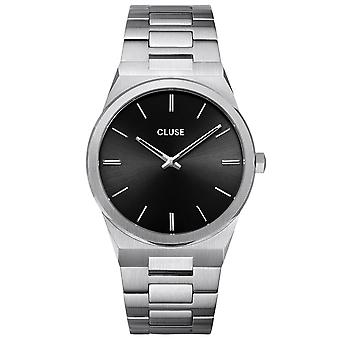 Cluse Watches Cw0101503004 Vigoureux 40 Black & Silver Stainless Steel Men's Watch