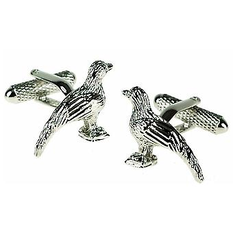 Pheasant Cufflinks by Onyx Art - Gift Boxed - Game Shooting Country Cuff Links