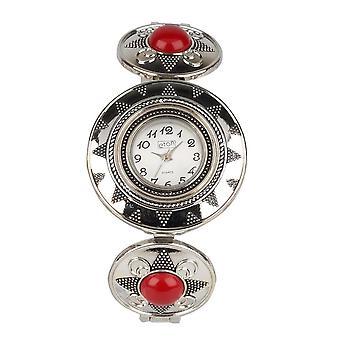 Eton Womens Bohemian style Watch, Mock Jasper Stone Bracelet 2840J-RD