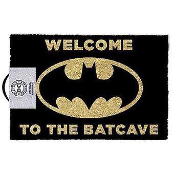 Batman & apos;Velkommen til Batcave' Black Doormat