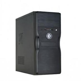 HKC S1 Plus Midi-Tower behuizing [ATX 430W 1x FDD 2x Molex 3x SATA 20+4pin 1x 4pin 12cmFan PFC]