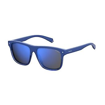 Polaroid PLD6041 PJP/5X Blue/Polarised Grey-Blue Mirror Sunglasses