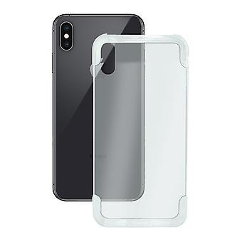 Coperchio mobile Iphone Xs Max KSIX Flex Armatura Trasparente