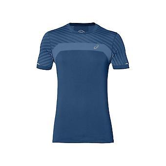 アシックス テクスチャ 2011A601401 ランニング 夏の男性 T シャツ