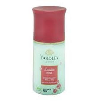 Yardley London Rose Deodorant Roll Op 50ml