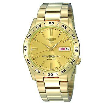 Seiko 5 automatische gouden RVS mannen horloge SNKE06K1
