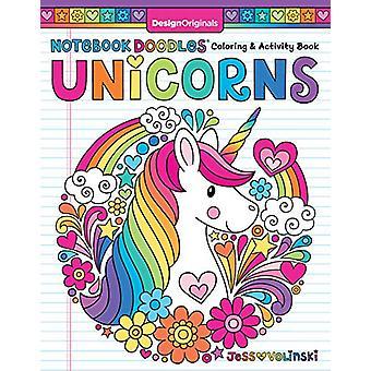 Notebook Doodles Unicorns by Jess Volinski - 9781497204423 Book