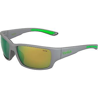 Bolle Kayman aurinkolasit (Matta harmaa vihreä/polarisoituruskea smaragdi)