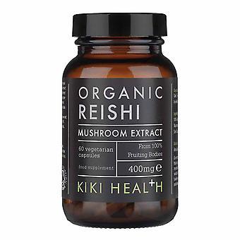 Kiki gezondheid organische Reishi paddestoel extract Vegicaps 60