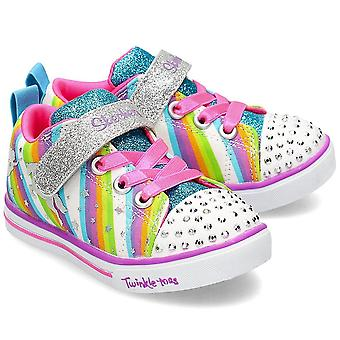 Skechers Magical Rainbows 20275NWMLT   infants shoes