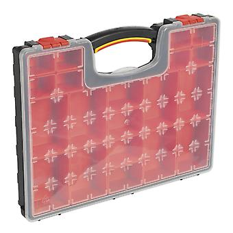Sealey Apas2R Parts Storage Case With 20 Removable Compartments