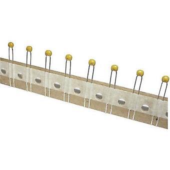TANCAP CT4-0805Y224M500C1T Ceramic capacitor THT 220 nF 50 V 20 % (W x H) 4.2 mm x 25 mm 1 pc(s)