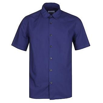 Camicia albam Rooke navy manica corta