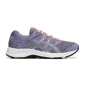 Asics Gel-Contend 5 Kids Girls Running Fitness Training Trainer Shoe Purple