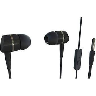 Vivanco SMARTSOUND BLACK Hi-Fi In-ear headphones In-ear Black