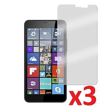 3x Anti-Glare Screen Protector Cover for Nokia Lumia 640 XL