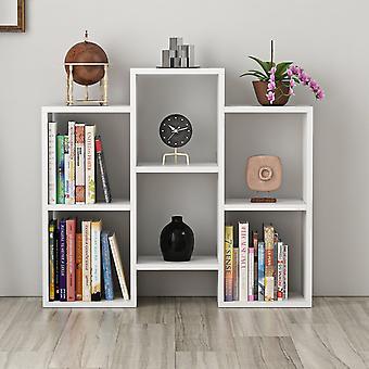 Libreria Fleet Color Bianco in Truciolare Melaminico 85x22x76 cm
