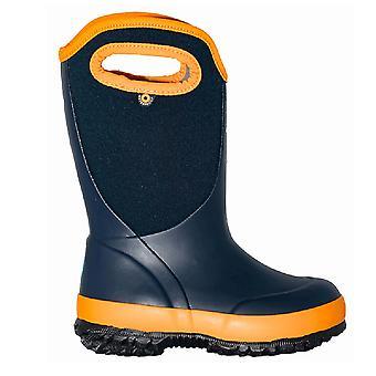 Bogs Slushie Kids Insulated Boot Navy Multi