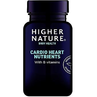 Higher Nature Cardio Heart Nutrients Vegetable Capsules 120 (CAR120)