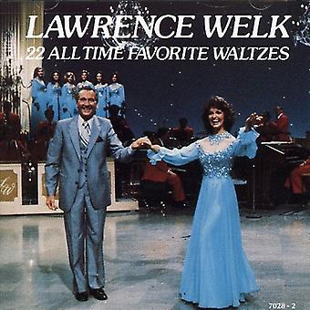 Lawrence Welk - 22 All Time Favorite Waltzes [CD] USA import