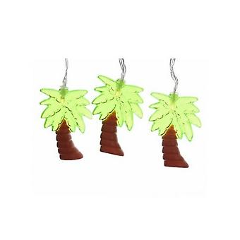 Palm Tree LED String Lights (10 Pieces)