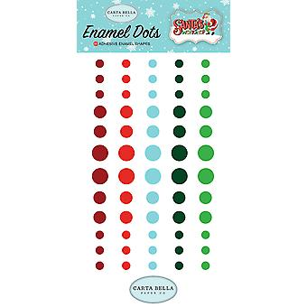Carta Bella Santa's Workshop Enamel Dots