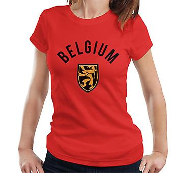 Toff Vintage Football Belgium Women's T-Shirt