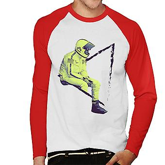 Motorsport Images Steve McQueen Assis Men-apos;s Baseball Long Sleeved T-Shirt
