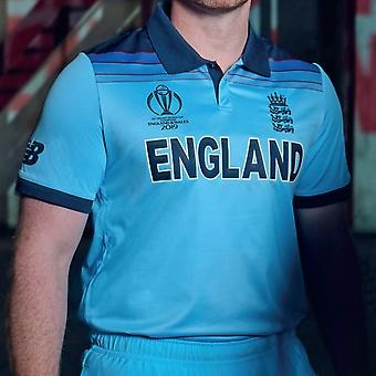 New Balance England Cricket ODI 2019 World Cup Winners Shirt Junior