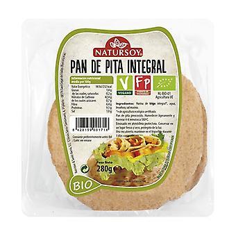 Hele hvete pita brød 280 g