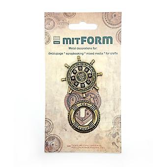 Mitform Marine 2 Metal Embellishments
